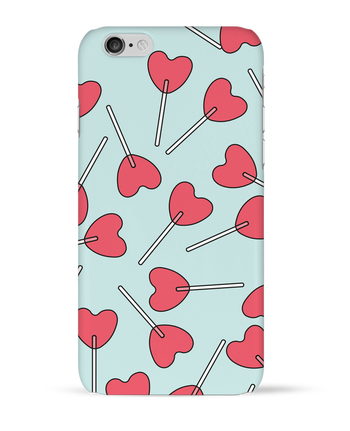 Case 3D iPhone 6 Sucettes coeur by tunetoo