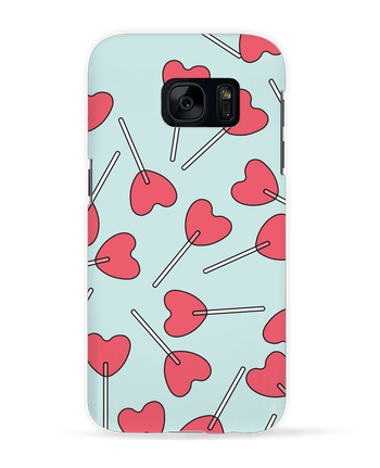 Case 3D Samsung Galaxy S7 Sucettes coeur by tunetoo