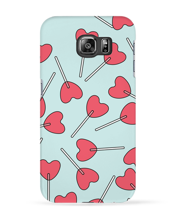 Case 3D Samsung Galaxy S6 Sucettes coeur - tunetoo