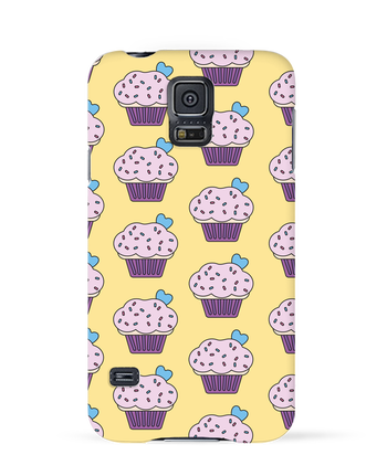 Case 3D Samsung Galaxy S5 Cupcake coeur by tunetoo