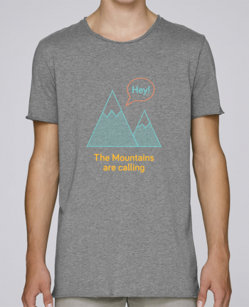 T-shirt Men Oversized Stanley Skates Mountains by chriswharton