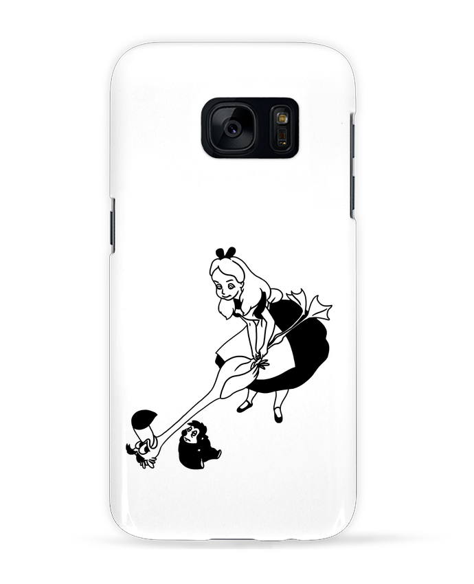Case 3D Samsung Galaxy S7 Alice by tattooanshort