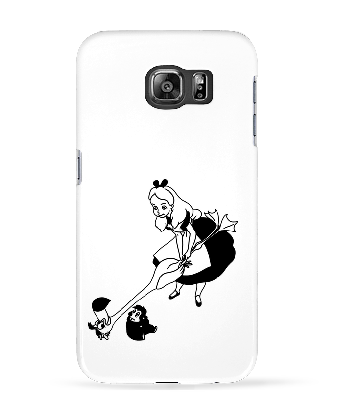 Case 3D Samsung Galaxy S6 Alice - tattooanshort