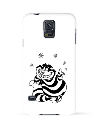 Case 3D Samsung Galaxy S5 Cheshire cat by tattooanshort