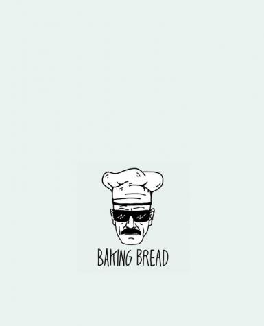 Tote Bag cotton Baking bread by Nick cocozza