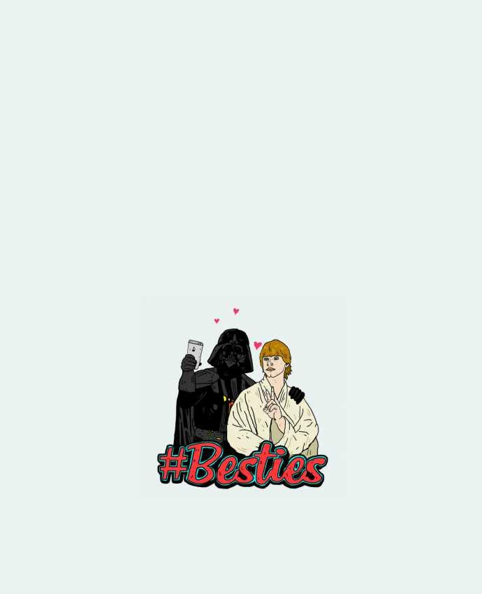 Tote Bag cotton #Besties Star Wars by Nick cocozza