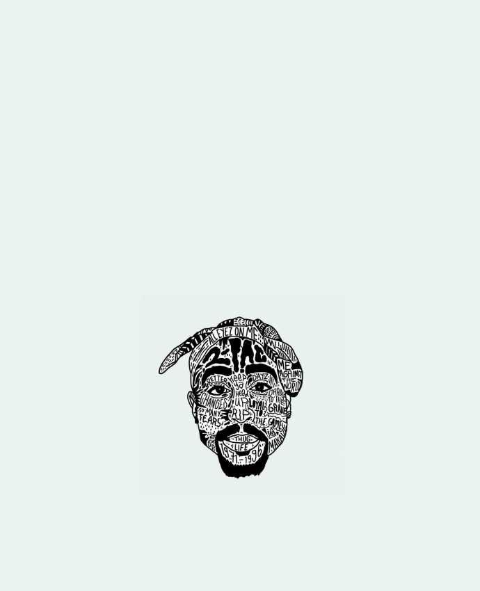 Tote Bag cotton Tupac by Nick cocozza