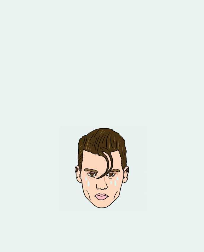 Tote Bag cotton Cry baby by Nick cocozza