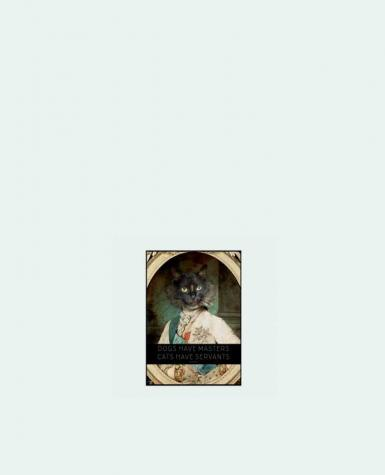 Tote Bag cotton King Cat by Tchernobayle