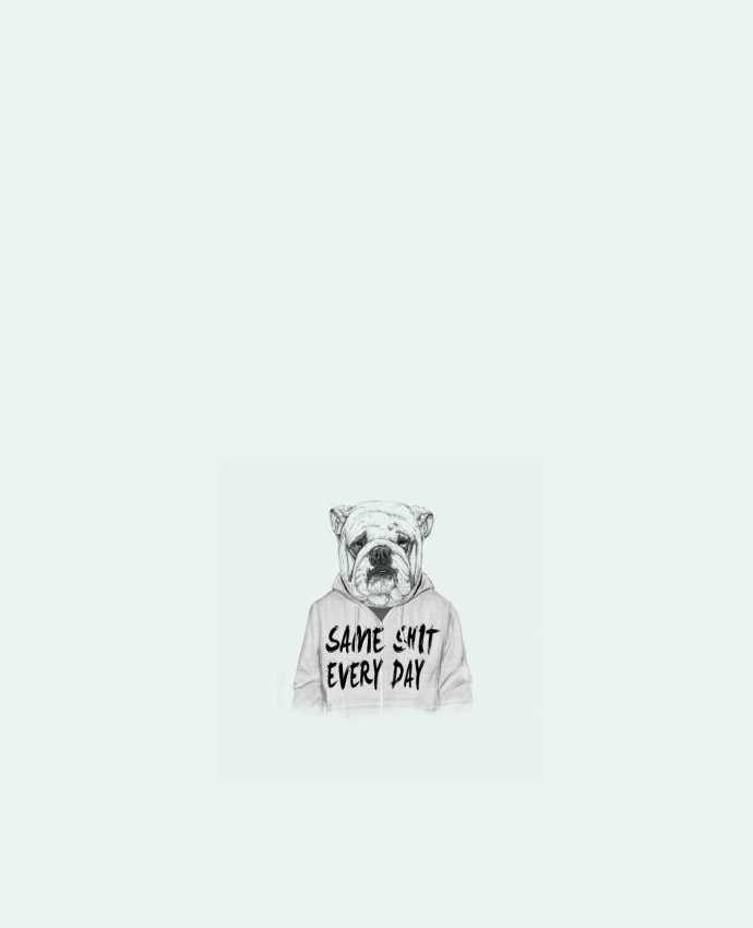 Tote Bag cotton Same shit every day by Balàzs Solti
