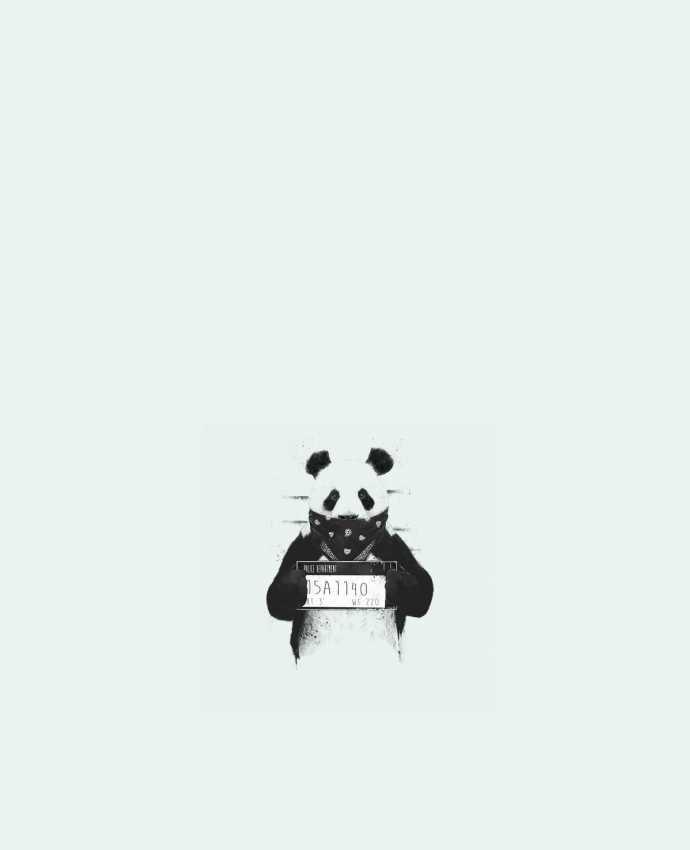 Tote Bag cotton Bad panda by Balàzs Solti