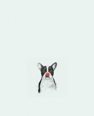 Tote Bag cotton IM not your Clown by Balàzs Solti