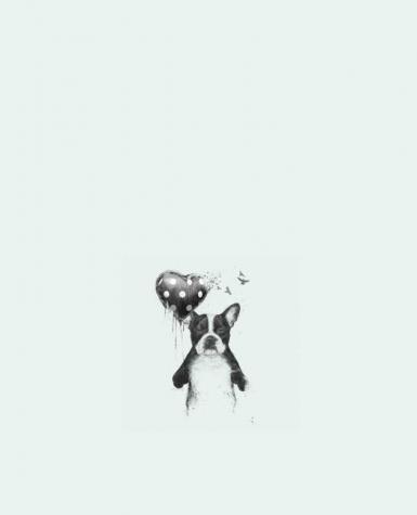 Tote Bag cotton my_heart_goes_boom by Balàzs Solti