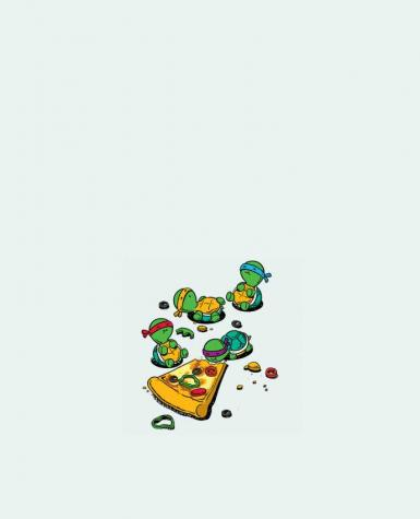 Tote Bag cotton Pizza lover by flyingmouse365