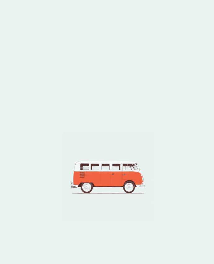 Tote Bag cotton Red Van by Florent Bodart