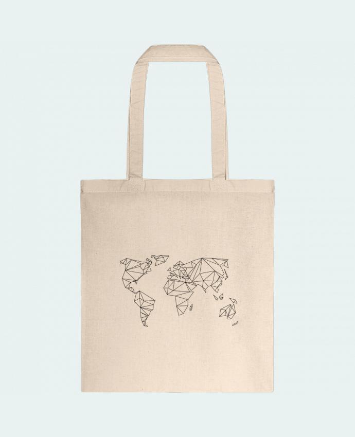Tote Bag cotton Geometrical World by na.hili