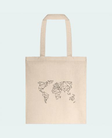 Tote Bag cotton Geometrical World by na.hili