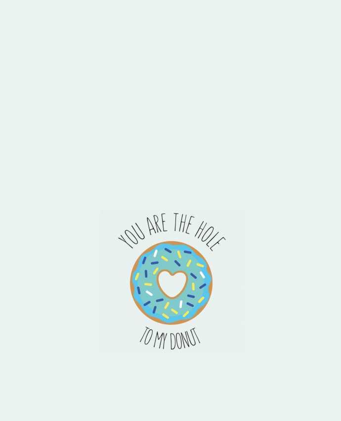 Tote Bag cotton Donut coeur by tunetoo
