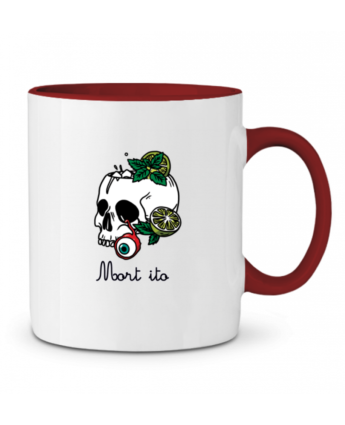 Two-tone Ceramic Mug Mort ito tattooanshort