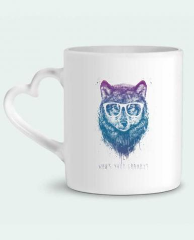 Mug Heart whos_your_granny by Balàzs Solti