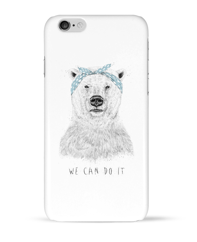 Case 3D iPhone 6 we_can_do_it by Balàzs Solti