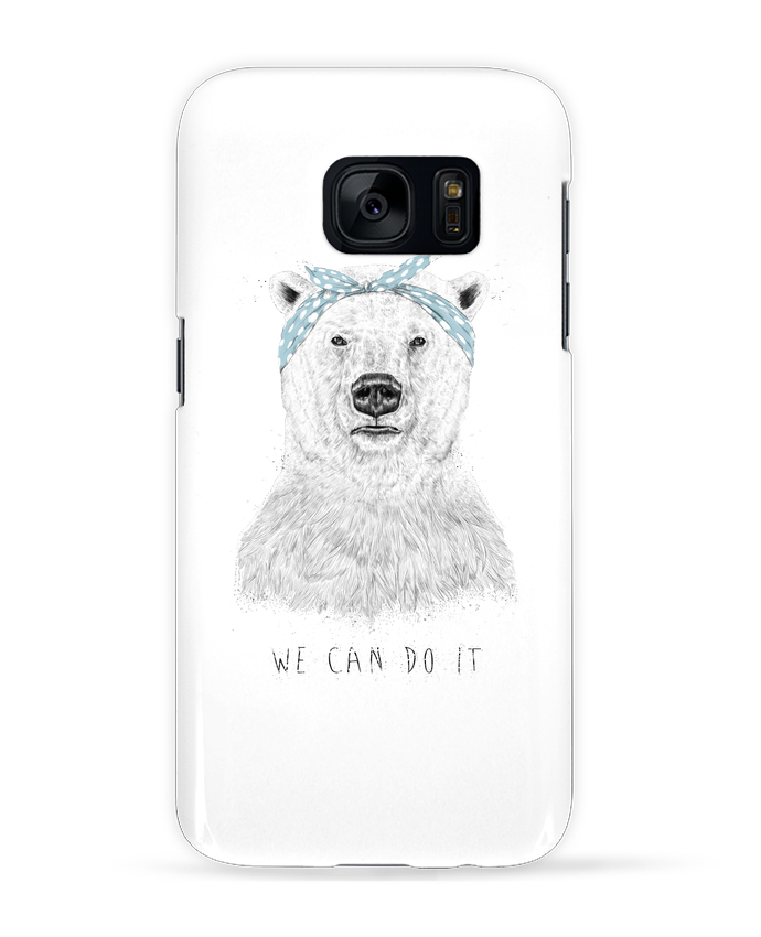 Case 3D Samsung Galaxy S7 we_can_do_it by Balàzs Solti