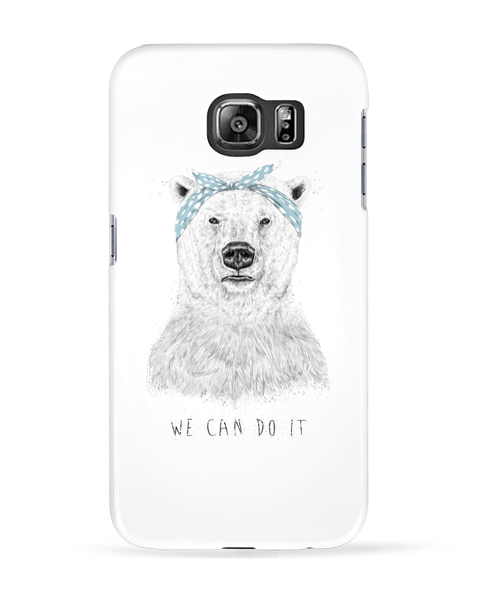 Case 3D Samsung Galaxy S6 we_can_do_it - Balàzs Solti