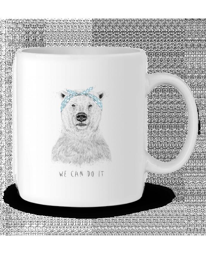 Ceramic Mug we_can_do_it by Balàzs Solti
