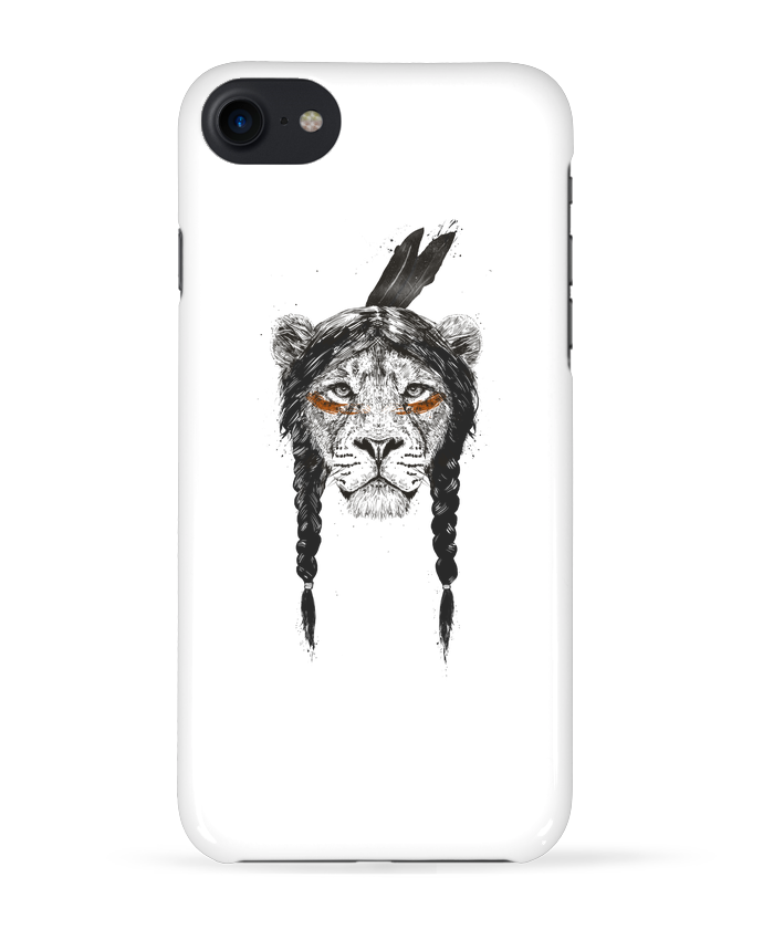Case 3D iPhone 7 warrior_lion de Balàzs Solti
