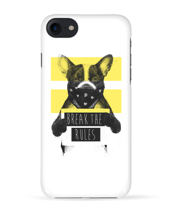 Case 3D iPhone 7 rebel_dog_yellow de Balàzs Solti