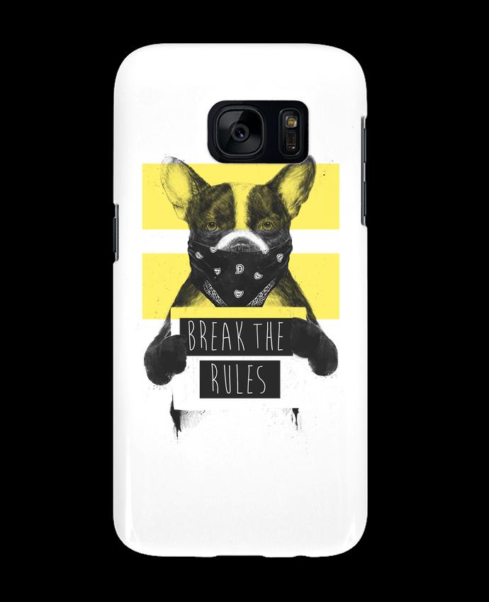 Case 3D Samsung Galaxy S7 rebel_dog_yellow by Balàzs Solti