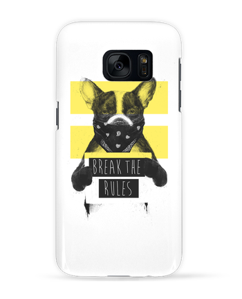 Case 3D Samsung Galaxy S7 rebel_dog_yellow by Balàzs Solti