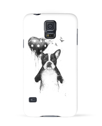Case 3D Samsung Galaxy S5 my_heart_goes_boom by Balàzs Solti