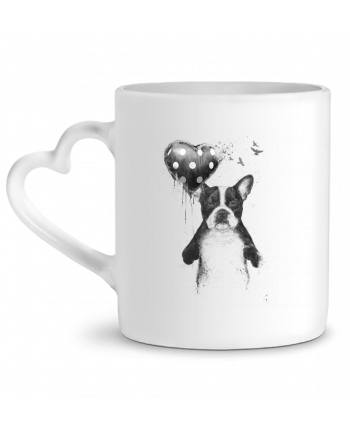 Mug Heart my_heart_goes_boom by Balàzs Solti