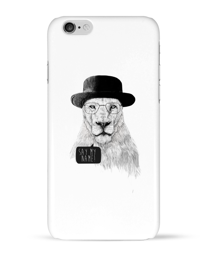 Case 3D iPhone 6 Say my name by Balàzs Solti