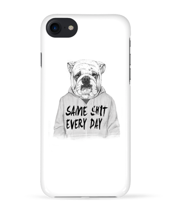 Case 3D iPhone 7 Same shit every day de Balàzs Solti