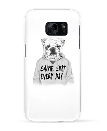 Case 3D Samsung Galaxy S7 Same shit every day by Balàzs Solti