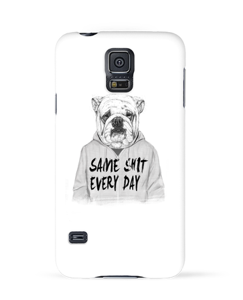 Case 3D Samsung Galaxy S5 Same shit every day by Balàzs Solti
