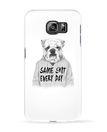 Case 3D Samsung Galaxy S6 Same shit every day - Balàzs Solti