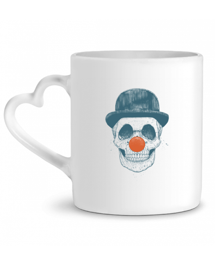Mug Heart Dead Clown by Balàzs Solti