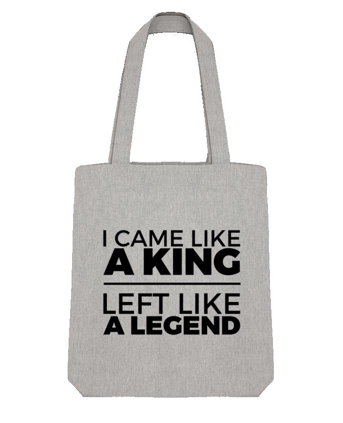 Tote Bag Stanley Stella I came like a king II by tunetoo