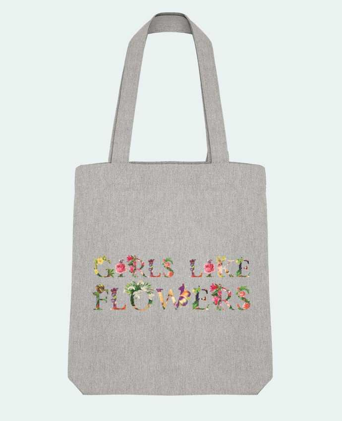 Tote Bag Stanley Stella Girls like flowers by tunetoo