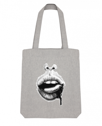 Tote Bag Stanley Stella BAISER VIOLENT by teeshirt-design.com