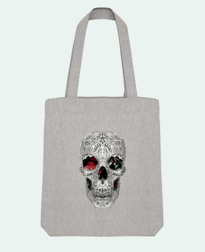 Tote Bag Stanley Stella Lace skull 2 light by ali_gulec