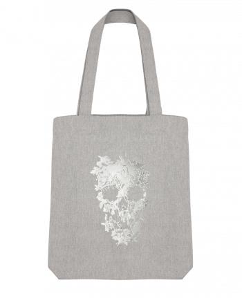 Tote Bag Stanley Stella Simple Skull by ali_gulec