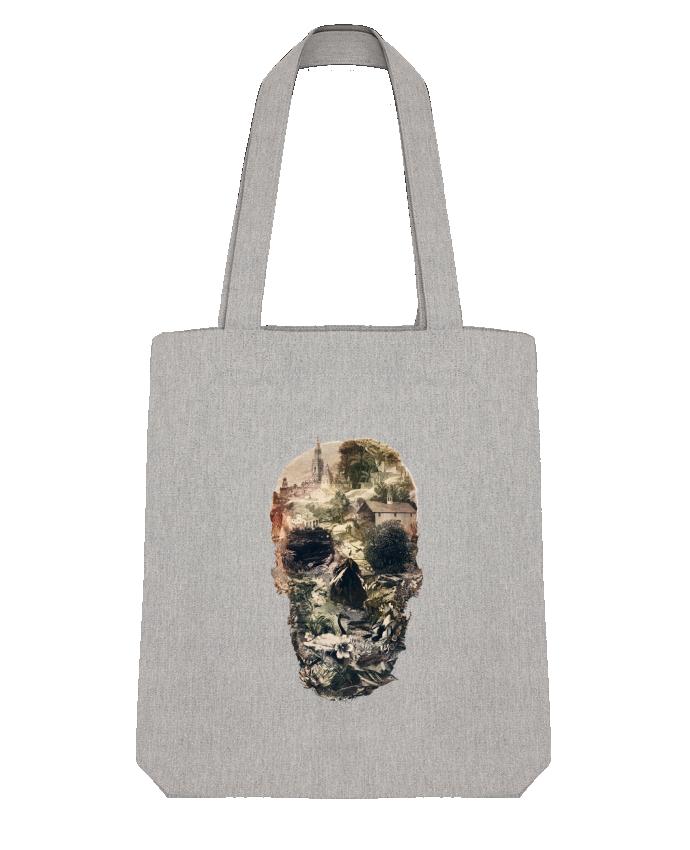 Tote Bag Stanley Stella Skull town by ali_gulec