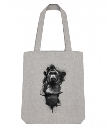 Tote Bag Stanley Stella Gorille by WZKdesign