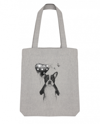 Tote Bag Stanley Stella my_heart_goes_boom by Balàzs Solti