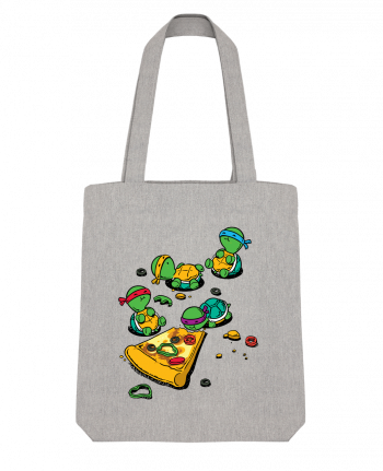 Tote Bag Stanley Stella Pizza lover by flyingmouse365