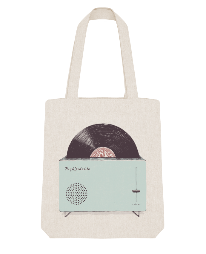 Tote Bag Stanley Stella High Fidelity by Florent Bodart